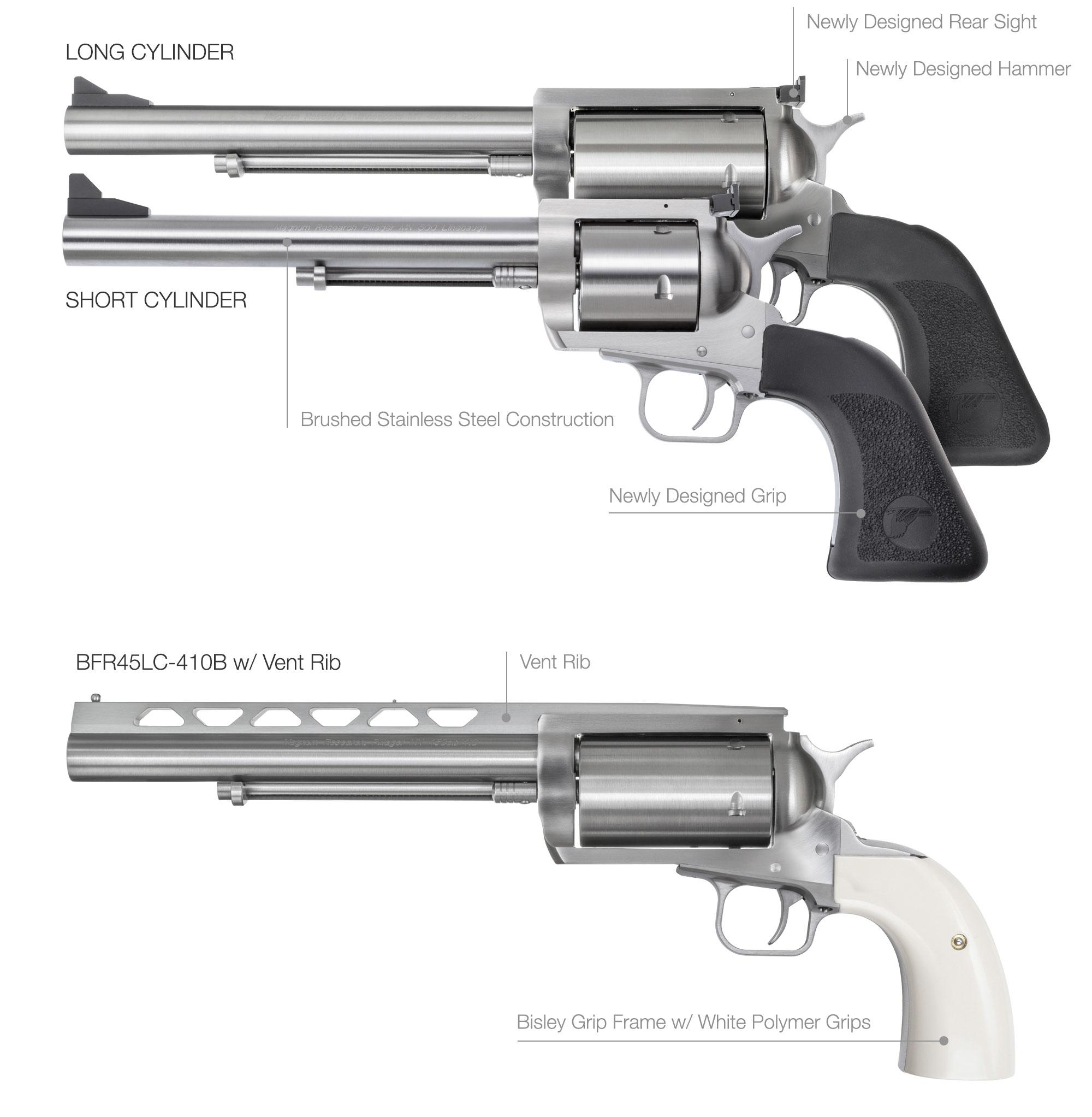 BFR - Big Frame Revolver - Magnum Research, Inc  | Desert